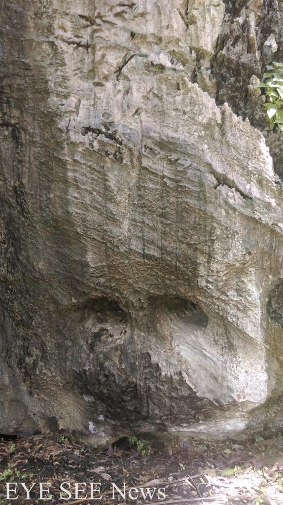 自然人像石