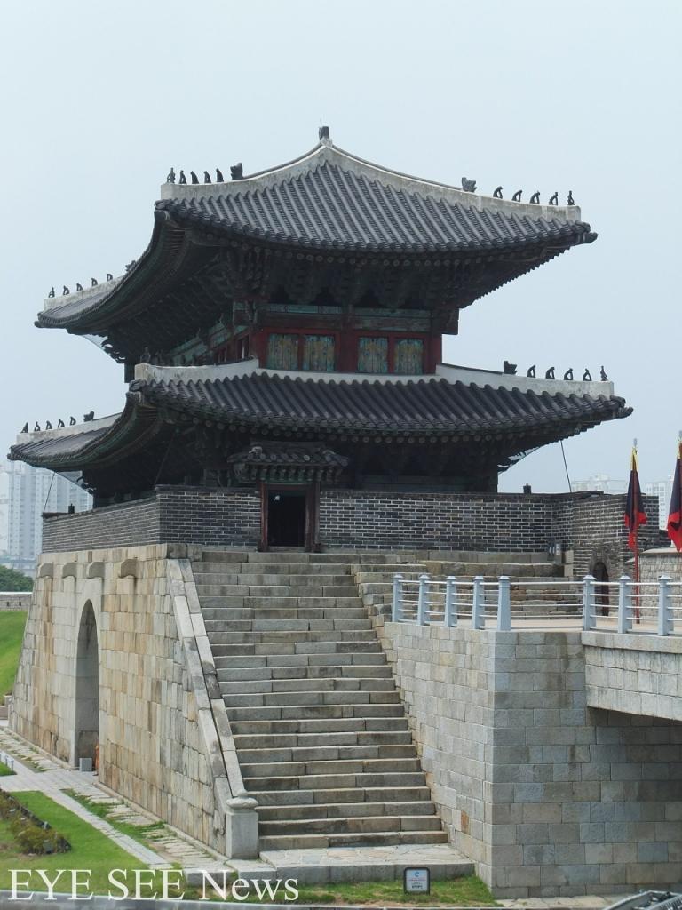 水原華城的城邑