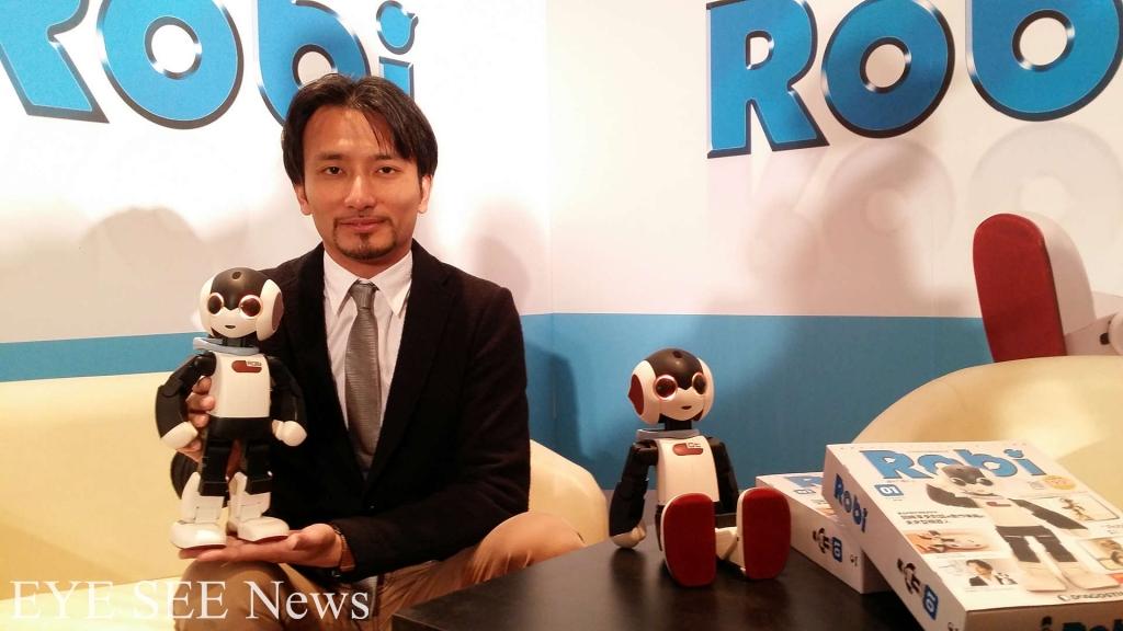 新時代友善機器人Robi 現身了 圖/翻攝自網路