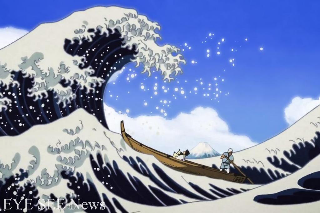 《百日紅Miss Hokusai》動畫電影 圖/youtube
