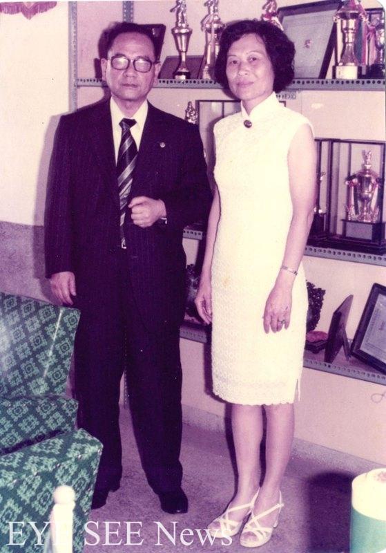 跨越戰前戰後時代的兩位校長,在1977年5月相會於文化國小校長室。圖/新北市政府文化局