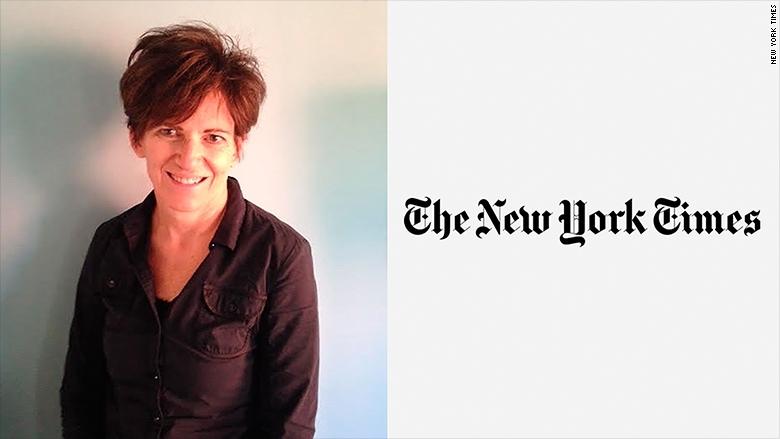 伊莉莎白.史倍德( Elizabeth Spayd )為紐約時報新聘任的大眾編輯。圖/CNN網站