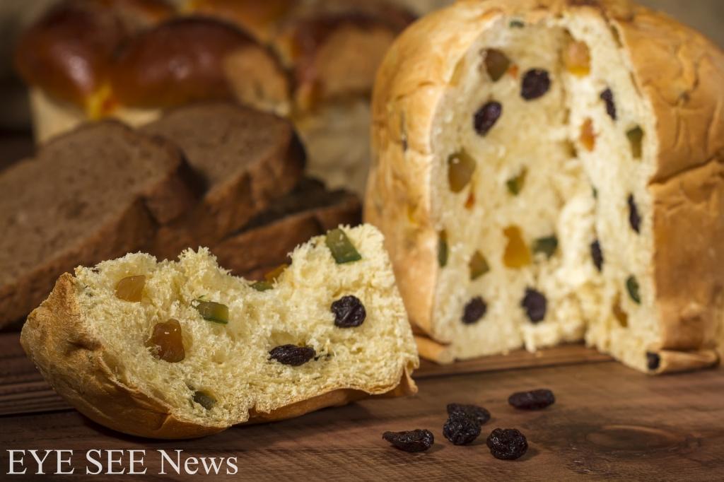義大利的水果麵包Penettone是用蛋黃、鹽、酵母、麵粉、糖、奶油、檸檬、果乾等做成的具有蛋糕口感的麵包,常用特製的星形烤模烤焙,高度從10到25公分不等,看起來像是放大版的杯子蛋糕。圖/網路