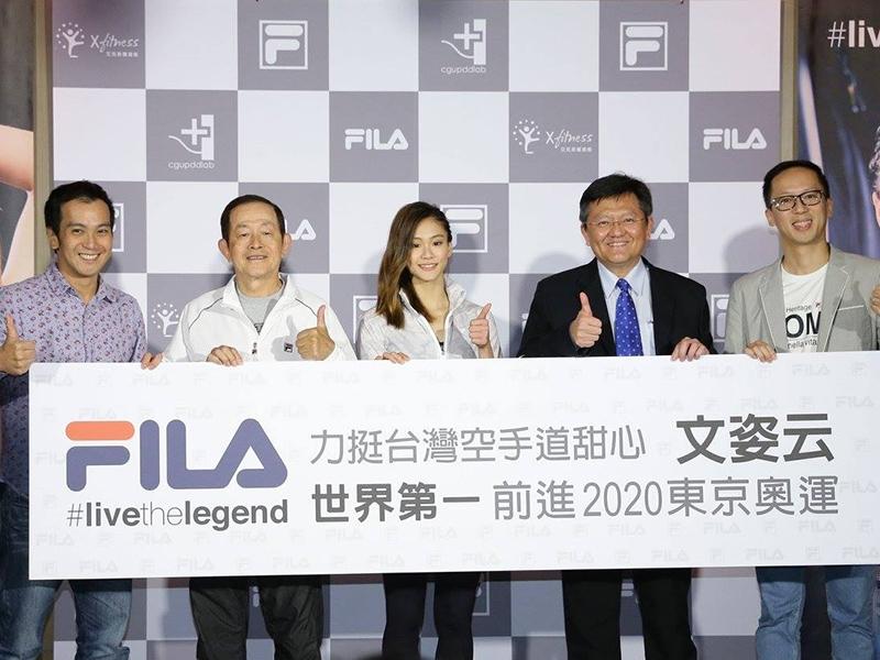 文姿云感謝一路上支持她的家人、教練與貴人們,下一個目標是2020年東京奧運金牌。 圖/文姿云wen,tzu-yun粉絲專頁
