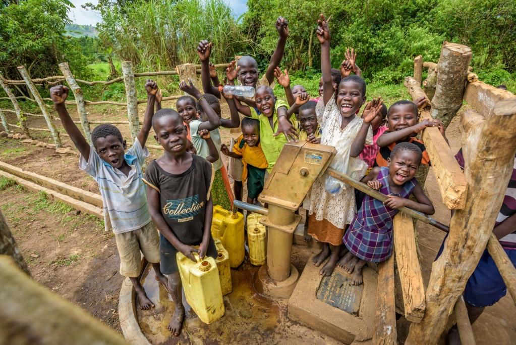 台灣世界展望會將於非洲10個國家進行水資源暨衛生方案,幫助最缺乏水源的地區。圖/台灣世界展望會提供