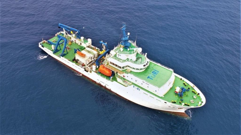 勵進號船身長75.97公尺、寬16公尺、總噸位2,629噸 圖/科技部