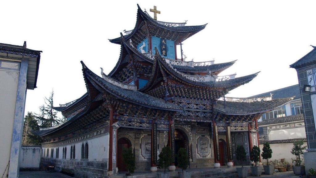 中國天主教堂 圖/Vatican News
