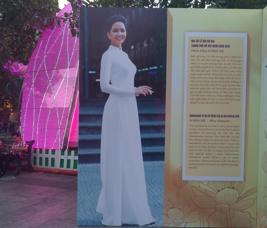 成功顛覆傳統審美標準,2017年越南環球小姐H'Hen Niê,現在也成為胡志明市的代言人。圖/林智恩。