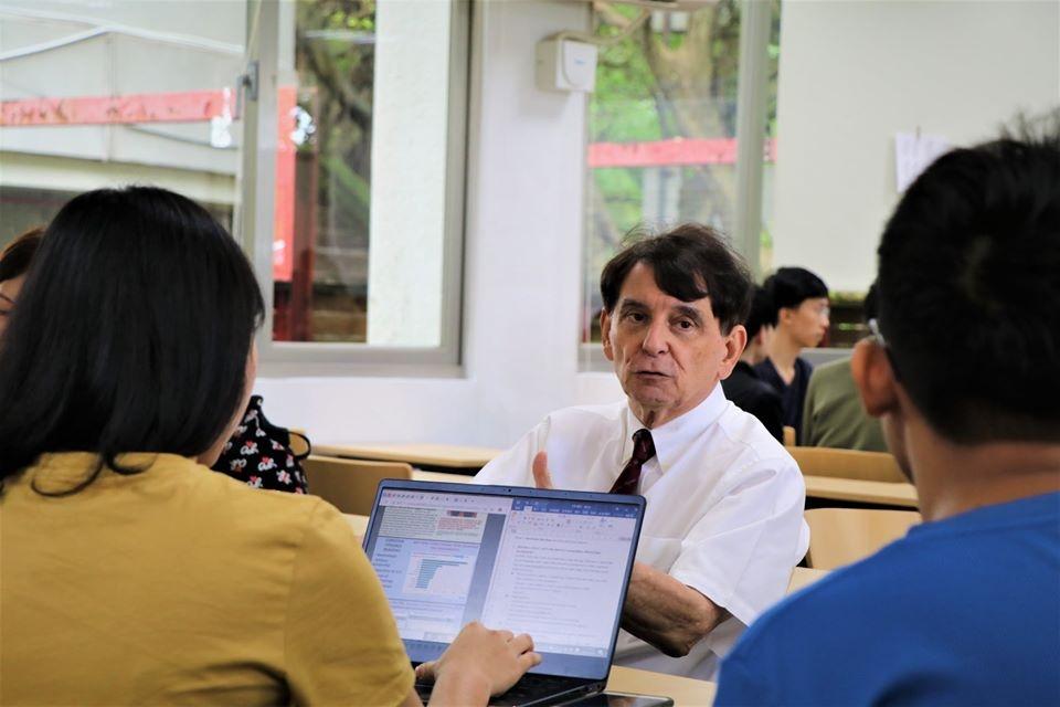 陽明大學副校長司徒文。圖/擷自陽明大學臉書