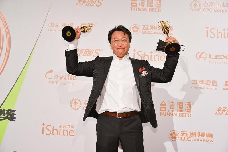 游安順一舉獲得第55屆金鐘獎「迷你劇集/電視電影男主角」、「迷你劇集/電視電影男配角」兩項大獎。 圖/三立電視提供
